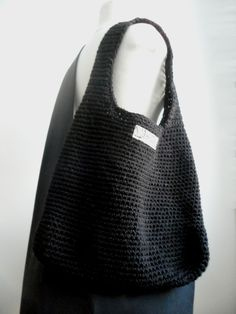 VMSomⒶ KOPPA: virkatut kassit - ohje Coin Bag, Knitted Bags, Knit Crochet, Purses, Knitting, Korit, Inspiration, Crafts, Tricot