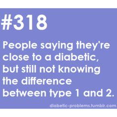 I am writing an argumentative research paper on type one and two diabetes, help please?!?