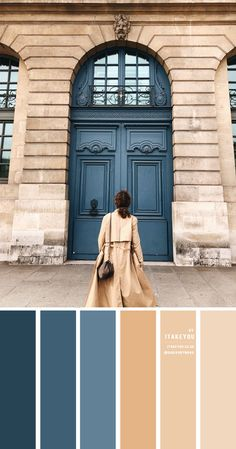 Dusty Blue and Taupe Colour Combo – #ColourPalette 48