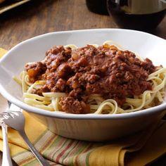 Savory Spaghetti Sauce Recipe