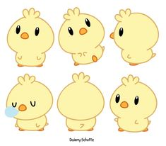 Chibi Chick by Daieny.deviantart.com on @DeviantArt