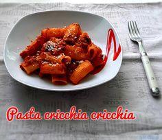PASTA CRICCHIA CRICCHIA #ricettadelgiorno #food #loscrignodelbuongusto #passionecucina #ottobre2020 #cucina #pastaalforno #primipiatti #primipiattiitaliani #primopiatto