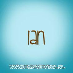Ian (Voor meer inspiratie, en unieke geboortekaartjes kijk op www.heyboyheygirl.nl)