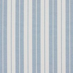Fabric Designs Aero Blue and White Ticking Stripes Heavy Duty Upholstery Fabric By The Yard - Striped discounted designer upholstery fabric by the yard at 40 percent off retail pricing. You cannot go wrong with pattern number view it here.