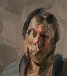 Tai Shan Schierenberg - Self Portrait as Proteus II 2008 Self Portrait Art, Abstract Portrait, Abstract Paintings, Figure Painting, Painting & Drawing, Painting Styles, Artist Painting, Tai Shan Schierenberg, Expressionist Portraits