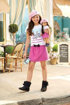 American Girl Outfits, American Girl Doll Sets, American Girl Doll Pictures, Girl Doll Clothes, Girl Dolls, Ag Dolls, Little Girl Outfits, Little Girls, Cosas American Girl