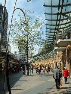De koopgoot, Rotterdam, Zuid-Holland.