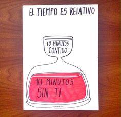 El tiempo es relativo... (Alfonso Casas)