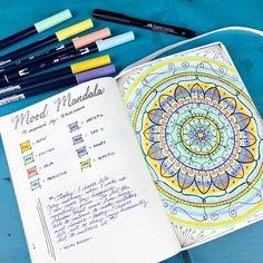 Hmmm, intrigued by this Mood Mandala thing!     Regram via @boho.berry
