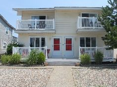 Charming and Meticulous, One House from Beach! 33rd Street Brigantine Beach 2BR 1BA. Shed for kayak storage