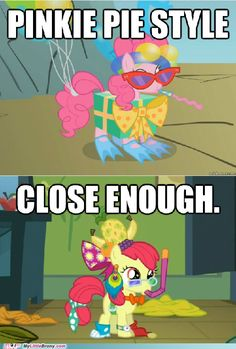 Oppan Pinkie Pie Style - My first thought when I saw this part~