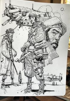 Ian McQue Sketches On Twitter | Found on twitter.com