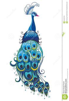 Resultado de imagen para pavo real bordado mexicano