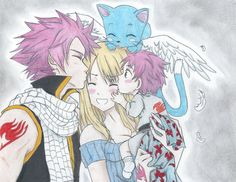 Nalu Dragon Kisses by Inubaki on DeviantArt