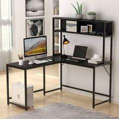 Office Workstations, Home Office Desks, Office Furniture, Smart Furniture, Office Workspace, Furniture Ideas, Storage Shelves, Open Shelving, Storage Spaces