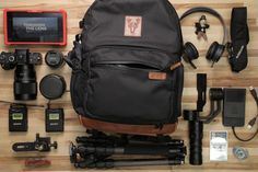 "What's In Your Bag: The Gear of ""Through The Lens -- Season 2"" 