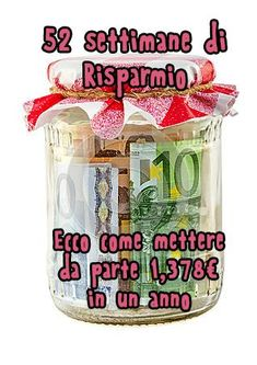 Risparmiare in un anno con il Saving Money Challenge' Agenda Planner, Budget Planner, Money Saving Challenge, Saving Money, Extreme Makeover, Desperate Housewives, Busy At Work, Life Plan, Money Tips