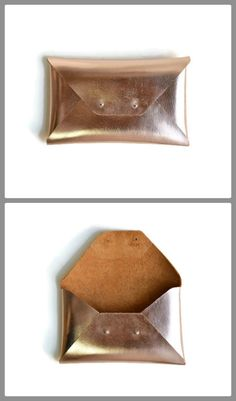 Rose gold leather clutch for the entire day!  This copper envelope clutch is ideal to carry anything you might need during the day. The bronze color is also ideal for your wedding or as a bridesmaids gift.  A handmade clutch from Italian genuine leather. It closes with two metal rivet studs in silver or gold. The pictures show the gold rivet studs.  The interior is unlined. It is available in two sizes Small size: Height 15,5cm (6,1) Length 25cm (9,9) Medium size: Height 21cm (8,3) Length…