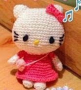 Patron De Hello Kitty En Amigurumi : 1000+ images about Hello Kitty free crochet pattern on ...