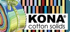 Kona® Cotton: Cotton Quilting Fabric: Robert Kaufman Fabric Company- This fabric was recommended by a Machine quilting blogger.