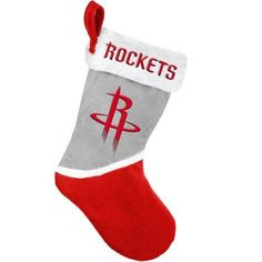 Forever Collectibles NBA 2015 Basic Stocking, Houston Rockets, Red