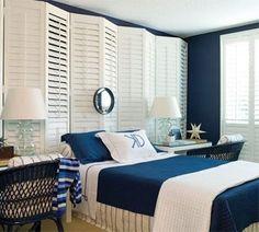Спальня в морском стиле 3