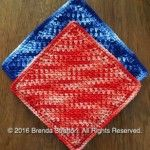 Diagonal Mesh Dishcloth by Brenda Stratton: Free for a limited time! Yarn Store, Dishcloth, Crochet Patterns, Outdoor Blanket, Mesh, Blog, Roses, Design, Happy