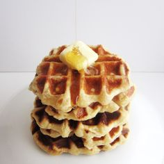 The Most Beautiful & Delicious Yeast Waffles + Pearl Sugar
