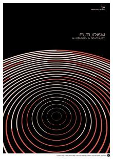 Limited Edition Futurism Print by Simon C Page