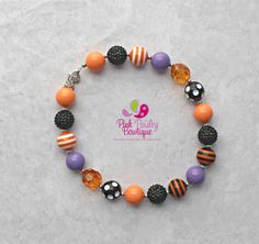 A personal favorite from my Etsy shop https://www.etsy.com/listing/246923609/halloween-bubblegum-necklace-chunkyHalloween Bubblegum Necklace, Chunky Necklace, Kid's Necklace, Children's Necklace, Girl's Necklace, Chunky Bead Necklace, Fall Necklace