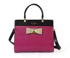 kate spade new york Pink Handbags & Purses for Women Pink Handbags, Kate Spade Handbags, Fashion Handbags, Kate Spade Outlet, Michael Kors Outlet, New York Fashion, Hermes Kelly, Urban Fashion, Purses