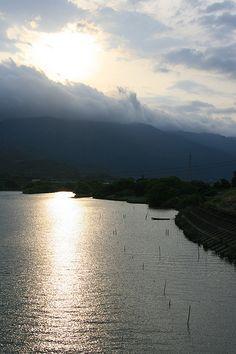 Komano, Japan at Sunset