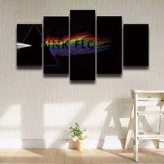 Pink Floyd Painting - 5 Piece Canvas  #prints #printable #painting #canvas #empireprints #teepeat
