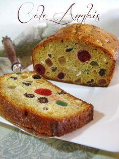 Cake aux Fruits Confits bien répartis