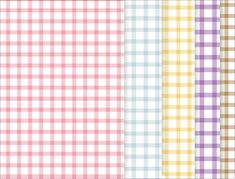 Lovely fabric patterned scrapbook papers to download