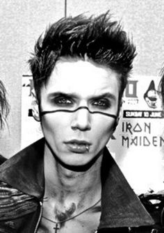 Andy's hair in 2012 at download festival