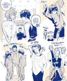 Floor of Test Regulars Manga Anime, Anime Art, Anime Boys, Yuri, Fanart, Webtoon Comics, Comic Pictures, Ship Art, Manga Games