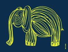 {Free Printable} #elephant #TheSuperettes