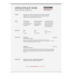 #sample #resume www.onebuckresume.com/ www.squidoo.com/