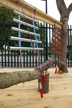 Musical instruments are a great addition to a playground for younger children. Constructed by Duncan & Grove. Outdoor Playground, Playground Ideas, Music Garden, Commercial Playground Equipment, Outdoor Play Equipment, Vegetable Garden Planning, Sensory Garden, Play Yard, Outdoor Classroom
