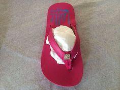 KIDS Girls PINK FLIP FLOPS SANDAL ARCH SUPPORT W/ BLING PENDANT SIZE 2/3 - http://shoes.goshoppins.com/girls-shoes/kids-girls-pink-flip-flops-sandal-arch-support-w-bling-pendant-size-23/