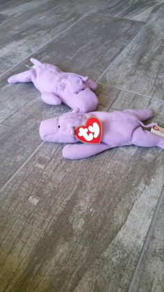 Happy the Hippo   Retired Collectible TY Teenie Beanie Baby   McDonald s  Happy Meal Toy Promotion   Easter Gift   Boy Girl Birthday Student 5884359f344a