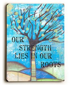 Good for the soul. Designed using mixed media elements, this cheerful plaque delights the eyes with dreamy pastels and fanciful imagery. An inspirational message gives the piece an optimistic finish, while a sawtooth hanger on the back makes it simple to hang.14'' W x 20'' H x 0.5'' DWoodSawtooth hanger