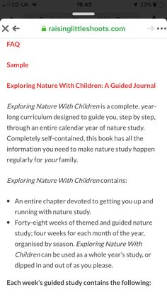 Curriculum Design, Yearly Calendar, Outdoor Learning, Forest School, Nature Study, This Book, Self, Activities