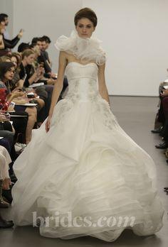 New Vera Wang wedding dress - Fall 2013