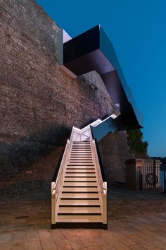 Coast Path Staircase at Royal William Yard, GB Plymouth  \ Architects: Gillespie Yunnie Architects, Totnes (GB)