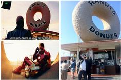 """#Sherlock&Sherlock #IronMan #Benedict  """"Exit the donut if convenient, if inconvenient, exit anyway."""""""
