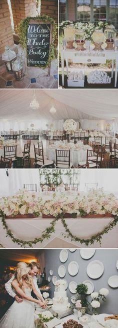 garden wedding by tameka