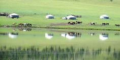 Nomadisches Hirtentum Golf Courses, Mongolia, Buddhism, Round Trip, Destinations, Landscape, Viajes