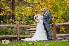 Bride & Groom at Frontier Park - Erie, PA   © Penny Shaut Photography  www.pennyshaut.com